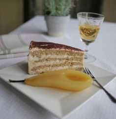 Gluten Free Chestnut & Vanilla Cake by Victoria Glass. @Sandra Anello needs to see this!