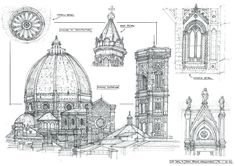 Sketchbook Architecture 1 by yongs on deviantART