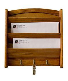 Acryl Gr/ün Briefhalter und Dokument Rack Schreibtisch Organiser f/ür Post und B/üro Aufbewahrung