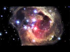 I never imagined I was going to see something like this: A video of a star bursting in space, illuminating the interstellar dust around it at the speed of light. This is not a computer simulation. It's an actual time-lapse video taken over four years by the Hubble—and scientists don't know its origin yet.