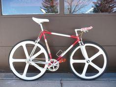 Vintage 1980's Dancelli Time Trial Funny Bike Pursuit Bike Completely Restored   eBay