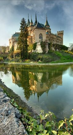 Bojnice Castle in Bojnice, central Slovakia • photo: *gummaid on deviantart
