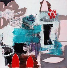 Danish artist Christel Maria Nolle - love this!