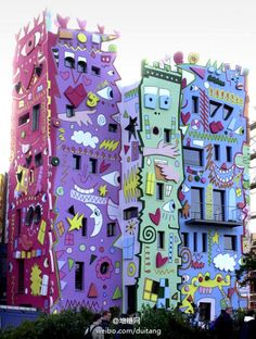 Rizzi House by James Rizzi, Germany