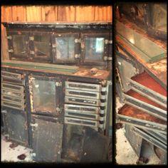 Antique Dental Cabinet Drawers Cabinets Desks Etc