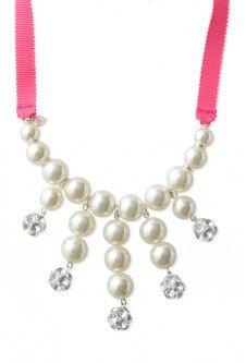 Ensemble de collier plastron et bracelet de perles Olive Pearls GALORE! shop www.stelladot.com/sites/SheriLiebmann