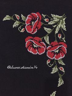 Cross Stitch Flowers, Mehndi Designs, Stitch Patterns, Diy And Crafts, Kawaii, Brooch, Embroidery, Cross Stitch Embroidery, Herb