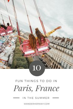 10 Fun Things to Do in Paris in the Summer - Wander Her Way Source by summer Paris France Travel, Paris Travel Tips, Asia Travel, Travel Ideas, Europe Destinations, Amazing Destinations, New York City, Paris Bucket List, Day Trip From Paris
