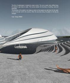 MSD M.Arch S2/16 - Yuan Chang. Studio Thesis 08 - Waterscraper. Tutor: Toby Reed.