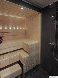 sauna,kylpyhuone,pieni sauna