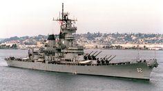 USS New Jersey (BB-62) - Iowa class Battleship (USA)