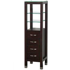 Wyndham WC K W045 ESP Storage Cabinets Tavello Linen Tower