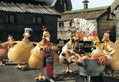 Chicken Run (2000)  Animated film Chicken Run is Great Britain in 2000 made by the studio Aardman Animations (who also produced the Oscar-winning film Wallace and Gromit).  Chicken Run tells the story of a group of chickens who try to escape before their owner, Mr. Tweedy and his wife, they make a chicken pie.