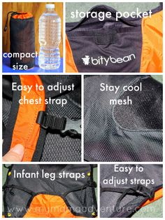 1f652a37b9e My Mama Adventure reviews the Bitybean UltraCompact Baby Carrier!