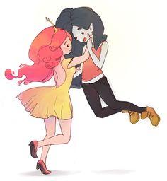 Oh Marcy - Princess Bubblegum x Marceline Fan Art (35201009) - Fanpop