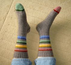 After I am done knitting my rainbow of socks ... inspiration for the scrappies!