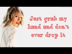 Taylor Swift – I Know Places So this one is my new fav TS song❤️❤️ Take my hand and let's go places~3 just a fragile little flame~3 cause I know places we can't be found