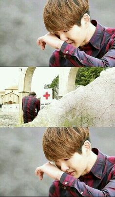 ONEW//DESCENDANTS OF THE SUN// ONEW is really AWESOME in acting , I don't know....but every time i burst into tears while he is crying.