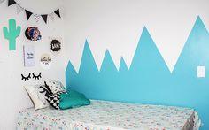 Dicas para uma pintura perfeita – Colorindo as paredes Processo de decoração do quarto Jan/2017