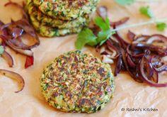 Zucchini Oats Patties - Vegan