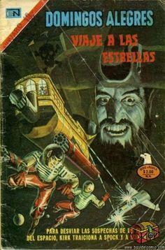 No. 1103 Novaro - Domingos Alegres, Portada Star Trek Universe, Happy Sunday, Comic Books, Posters, Comics, Science Magazine, Science Fiction, Old Comics, Libros