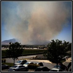 Wildfire season.  Be careful out there!
