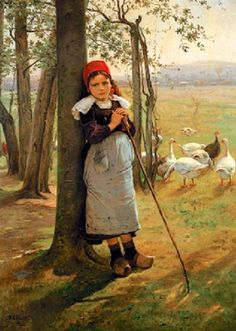 It's About Time: Portraits & Genre Paintings by Czech artist Václav Brožík 1851-1901