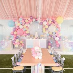 Make today a rainbow-filled bag of Pastel RAINBOWS & UNICORNS! This celebration by @oneinspiredparty has us wanting to crash a party! Magical work by each and every vendor: @supremetents @gildedgroupdecor @3menandalilladysweets @opopsbyangie @cakesbyrc @nicksandmay gorgeously captured by @christyandcophoto #oneinspiredparty #unicornparty #festaunicornio #proprentalsmiami #miamiproprentals #kidspartyideas BAMBINI SOIREE: decor design & specialty rentals for chic celebrations! WWW.BAMB...