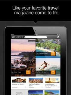 Jetsetter for iPad.  This app has a nice UI.