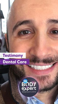 Like Anis, don't hesitate to come to us for a perfect smile. You will be more than delighted ;) Need a quote? For more information, please contact us !. #Bodyexpert #Testimony #BeforeAfter #SmilePerfect #ImplantsDental #DentalCrowns #TestimonyDentalCare #PerfectTeeth #MedicalTourism #DentalCare #DentalClinics #Turkey #Istanbul #Hollywoodsmile #Emax #Zirconia Implants Dentaires, Dental Implants, Perfect Teeth, Perfect Smile, Medical Care, Dental Care, Turkey Tourism, Dental Crowns, Teeth Care