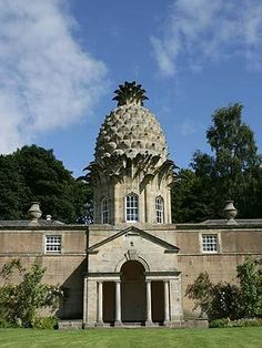 The Pineapple - one of our 50 for Free properties #charity historic buildings, self catering, social enterprise http://www.landmarktrust.org.uk/news-and-events/50-for-free/