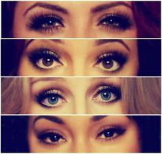 #LittleMix ♥ Eyes :3  just wonderful :)