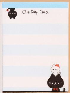 Libreta notas mini kawaii animal alpaca conejo oso gato 4 ud - Blocs de notas - Papelería - tienda kawaii modesS4u