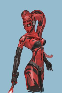 Darth Talon -  Lethan Twi'lek who became a Sith Lady under Darth Krayt but trained by a fellow Twi'lek Sith Lord named Darth Ruyn