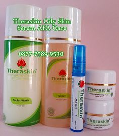 Paket Theraskin Oily Skin & Serum AFA