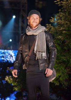 #m0851 | Leather Jacket, Scarves, Leather Bag, Hat | Fashionshow | Festival mode et design de Montréal, summer 2012 www.m0851.com/home/