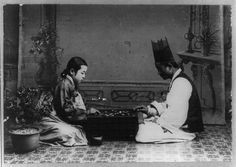 Korea in the Imperial Era and Japanese Occupation: A Korean Couple Plays the Game Go