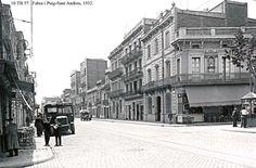 La Rambla de Fabra i Puig, el corazón de un pueblo | Foto de Fabra i Puig-Sant Andreu, 1932 | Distrito Municipal de Sant Andreu | Ayuntamiento de Barcelona