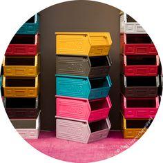 casier de stockage 40 Kg laqué couleur .:serendipity.fr:.