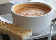 A simple lobster bisque recipe made with real lobster. A bisque is a cream soup that uses the shells of crustaceans (shellfish like shrimp & lobster) and is often pureed. Lobster Recipes, Seafood Recipes, Soup Recipes, Cooking Recipes, Seafood Appetizers, Shellfish Recipes, Cooking Stuff, Recipies, Dinner Recipes
