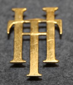 TH or HT, initials Uniform Insignia, Initials