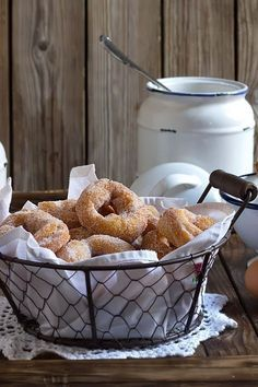 Yerbabuena en la cocina: Rosquillas abizcochadas