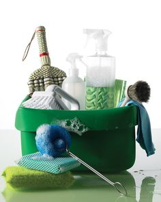 Cleaning Problems Solved by Whole Living. If your natural cleaners arent accomplishing the results you want, try rejigging the formulas with these suggestions Cleaning Solutions, Cleaning Hacks, Cleaning Supplies, Vision Board Diy, Shower Cleaner, Natural Cleaners, Living At Home, Green Cleaning, Natural Cleaning Products