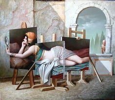 also here Vito Campanella Vito Campanella is an Argentine painter of Italian origin born in Monopoli, Bar. Rene Magritte, Max Ernst, Jean Arp, Wassily Kandinsky, Museum Of Modern Art, Museum Of Fine Arts, Caravaggio, Salvador Dali Kunst, Impressionist
