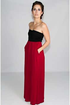 The Scarlet Letter Maxi Dress