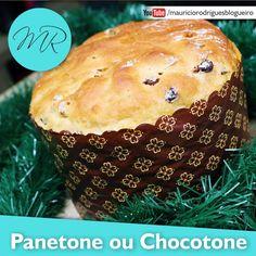 VÍDEO: Panetone ou Chocotone Fácil! | Máquina de Pão