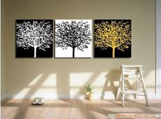 Black and White 100% Hand Painted Abstract Wall Canvas Art Sets Painting for Home Decoration Oil Painting Modern Art Large Canvas Wall Art Free Shipping 3 Piece Canvas Art Unstretch and No Frame Canvasart,http://www.amazon.com/dp/B009UC3YN4/ref=cm_sw_r_pi_dp_Eo-ctb1EBWJV9G9V