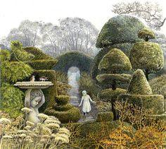 the secret garden final scene moors - Google Search