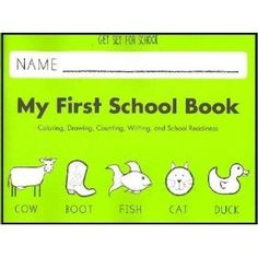 Amazon.com: Get Set for School, My First School Book (Handwriting Without Tears): Emily Knapton Jan Olsen, Jan Olsen: Everything Else