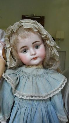 pinterest Simon and Halbig Bergmann Antique Doll with a Lovely Dress - Google Search